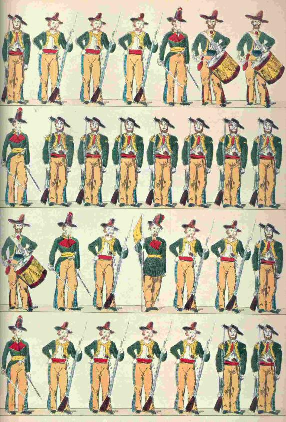 The Mexican army of the C19